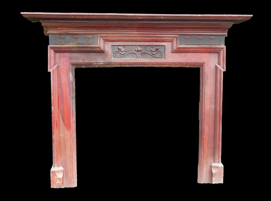 Art Nouveau Cast Iron Surround Image
