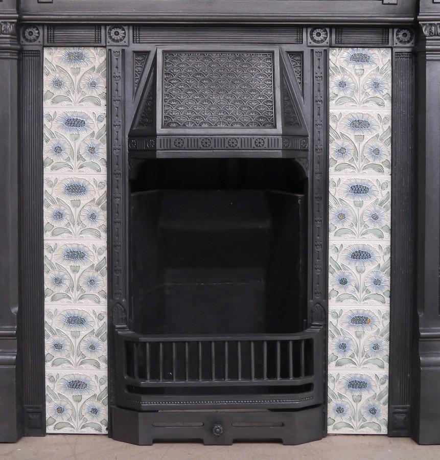 Reclaimed Victorian Cast iron insert Image
