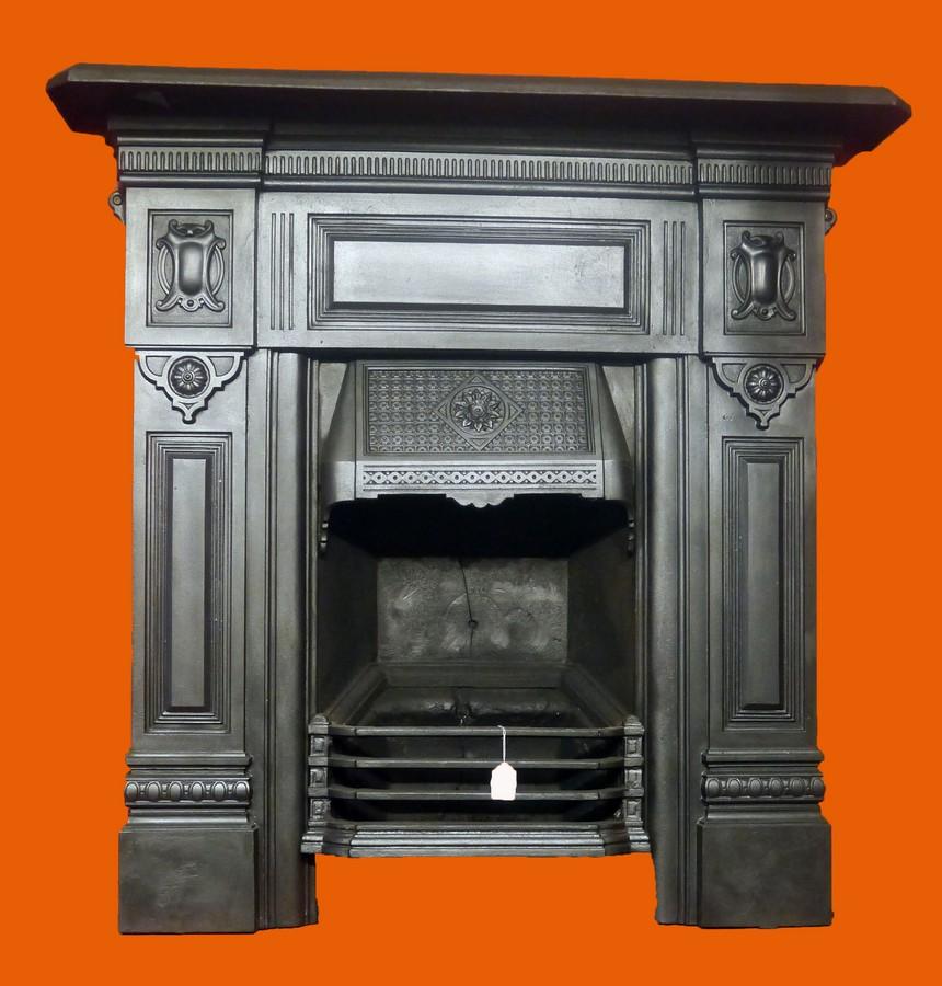 Large Edwardian Combination Fireplace Image