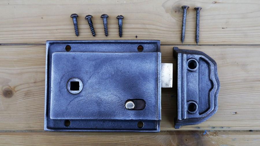 rim lock & Rim Locks - Victorian - Georgian - Art Deco Iron Mongery