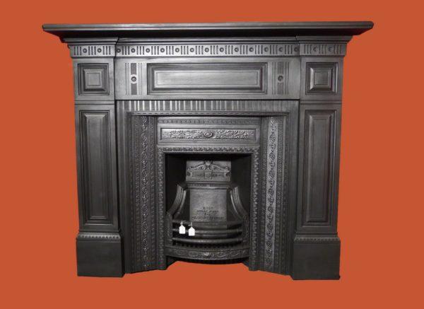 Reclaimed Cast Iron Surround Image