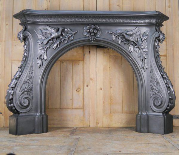 Large Coalbrookdale Cast Iron Surround Image