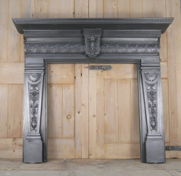 Antique Decorative Cast Iron Surround Image