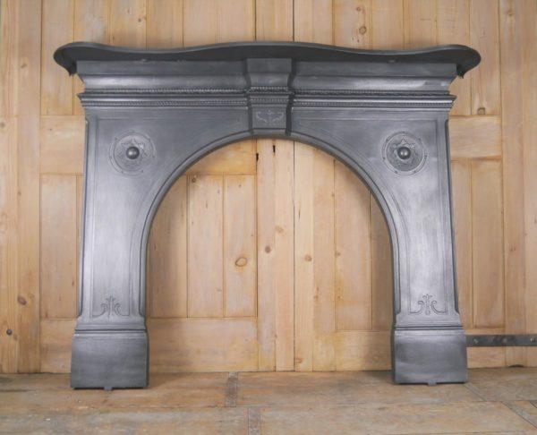 Original Arched Cast Iron Surround Image