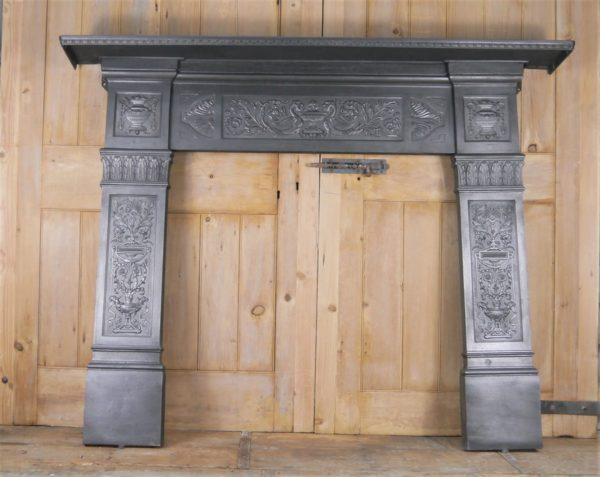 Decorative Reclaimed Cast iron Surround Image