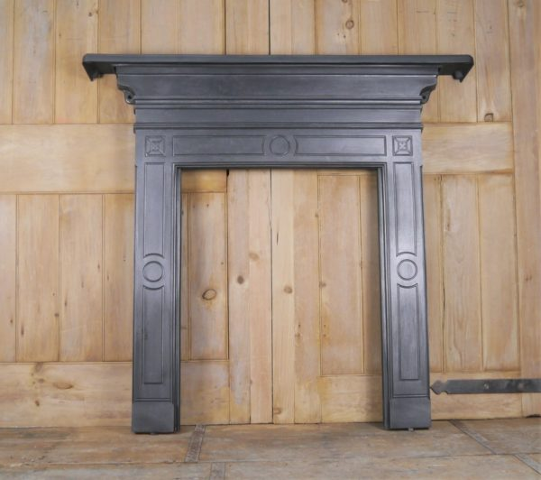 Reclaimed Small Cast Iron Surround Image