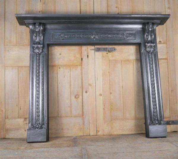 Reclaimed Antique Cast Iron Surround Image